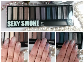 Paleta 12 cores  Sexy Smoke Ruby Kisses da Kiss New York