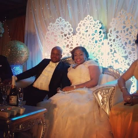 Photos: Gospel Singer Sinach's Church Wedding