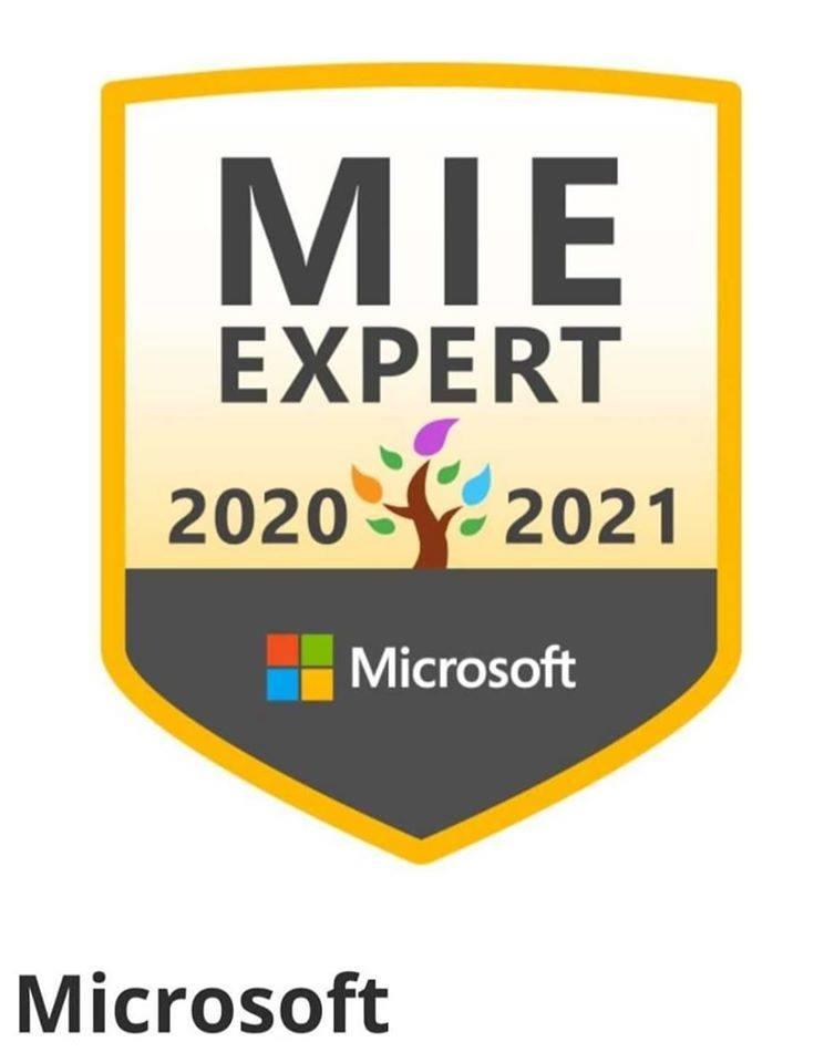 Jestem Microsoft Innovative Expert Educator