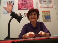 María Luisa Martin Vargas pasa Consulta en el XXXI Foro de las Ciencias Ocultas de Príncipe Pío de Madrid