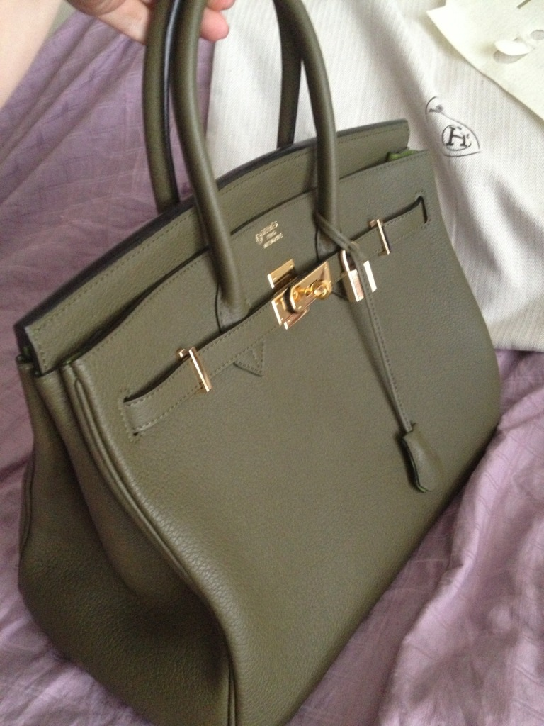 Purse Princess Victoria S Custom Birkin 35cm Togo Leather