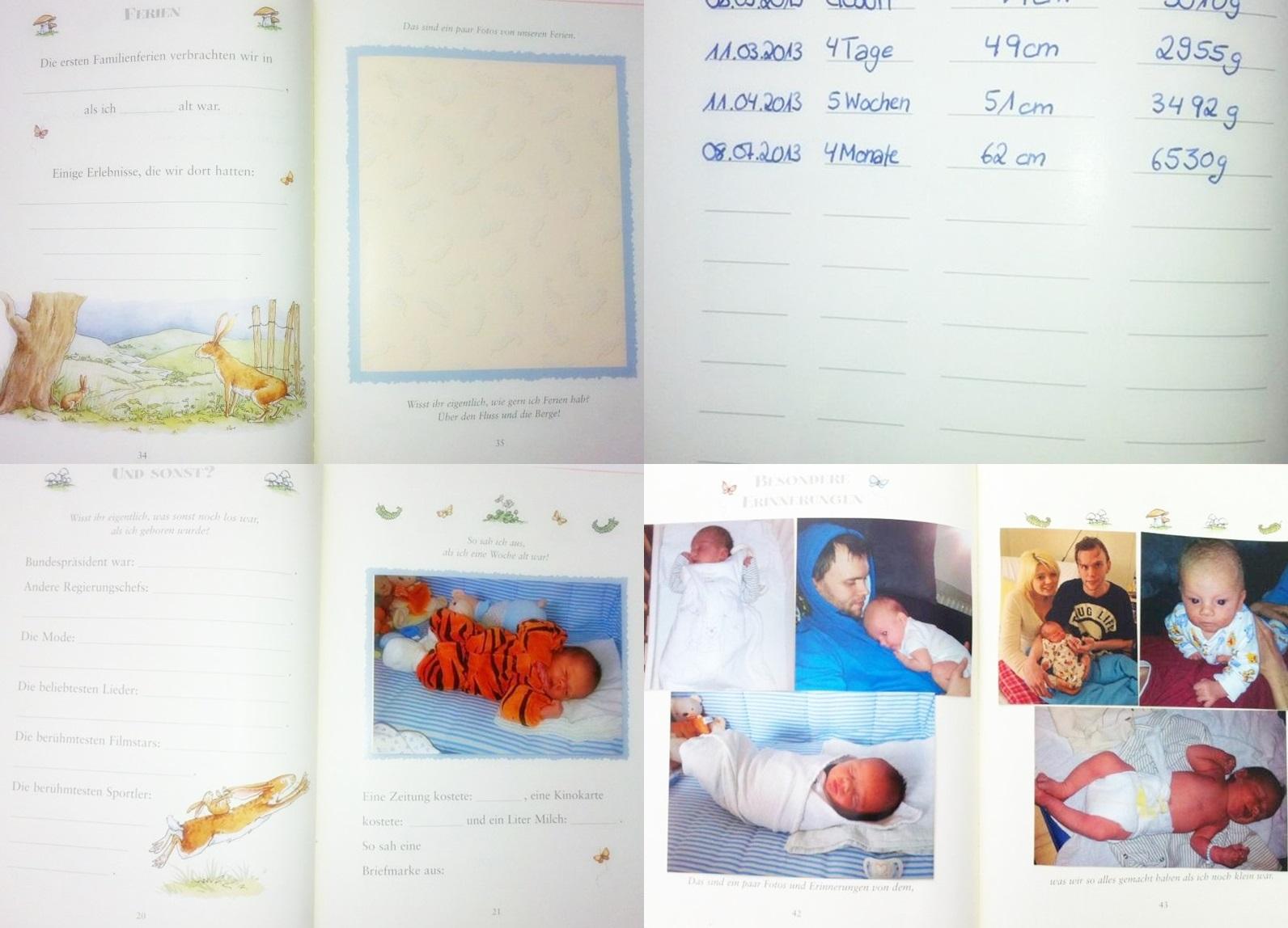 Großartig Baby Buch Vorlagen Bilder - Beispiel Wiederaufnahme ...