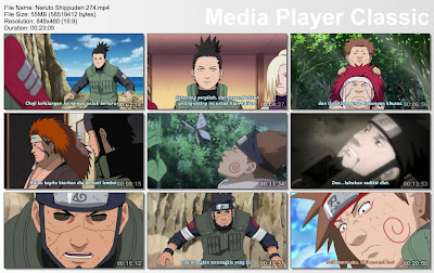 "DOWNLOAD FILM / ANIME NARUTO EPISODE 274 ""FORMASI LENGKAP, INO-SHIKA-CHO!"" BAHASA INDONESIA"