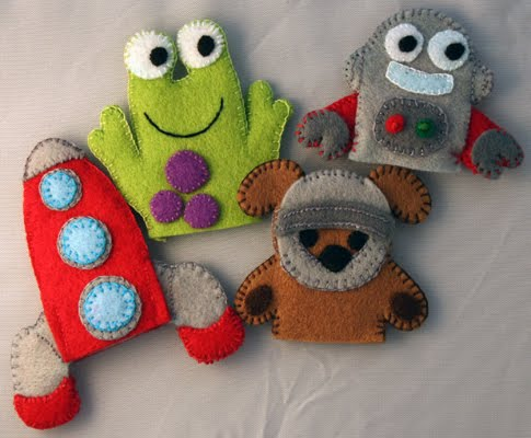 Crochet Pattern Central - Free Finger Puppets Crochet Pattern Link