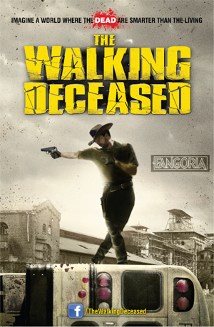 The Walking Deceased 2015 poster