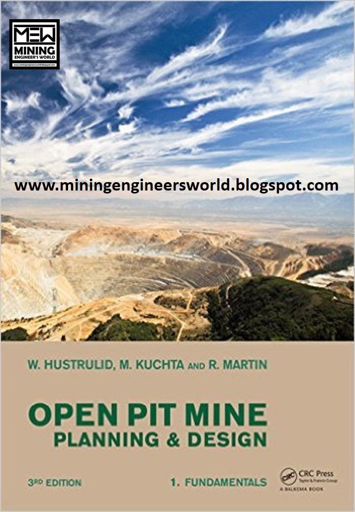 Open Pit Mine Planning And Design Third Edition Mining Engineer 39 S World