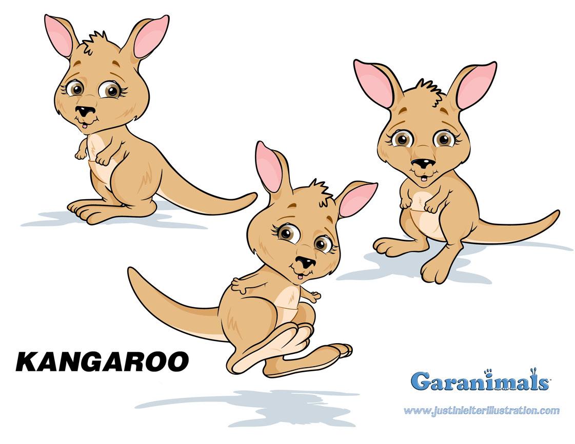 логотип кенгуру: