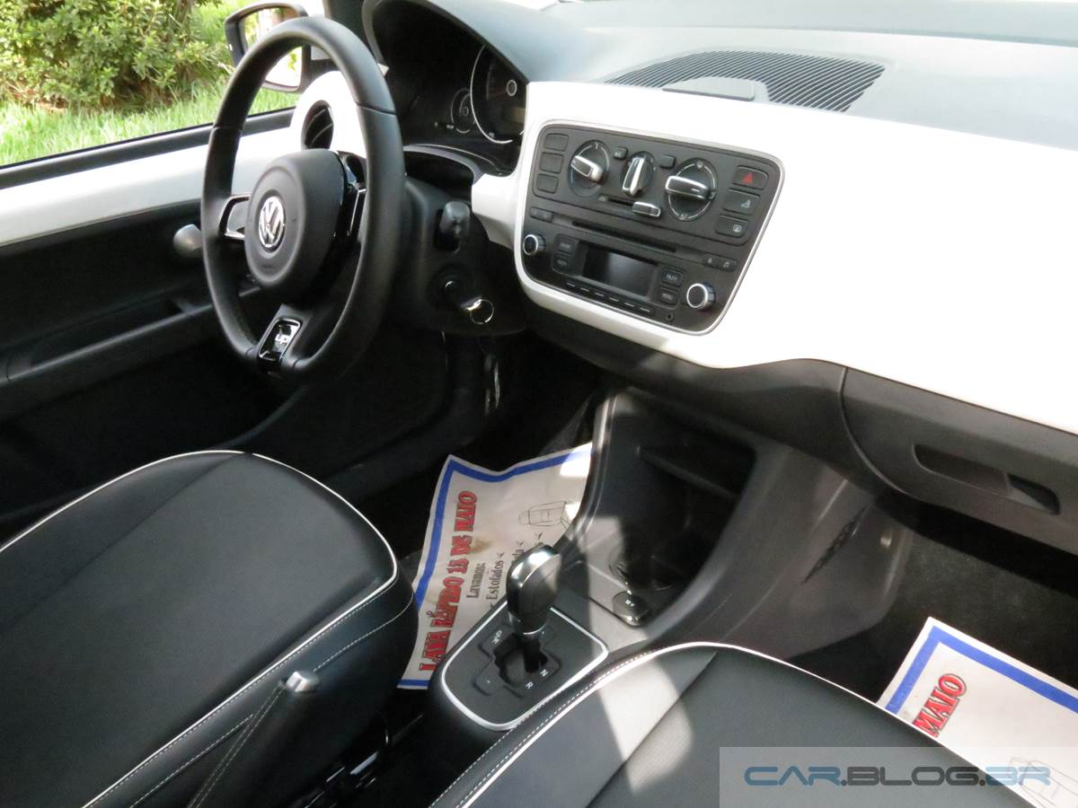 Volkswagen up! I-Motion automatizado - interior