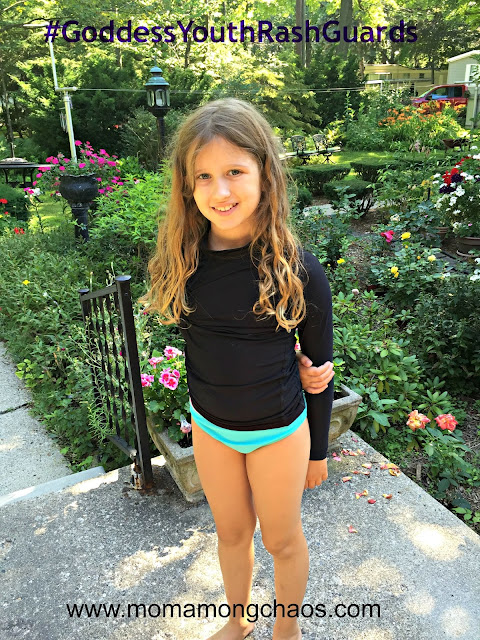 #GoddessRashGuards, rash guards, kids, review, swimwear, style, clothing