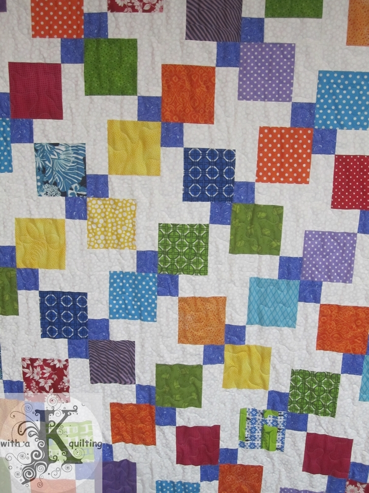 how to make a disappearing nine patch quilt