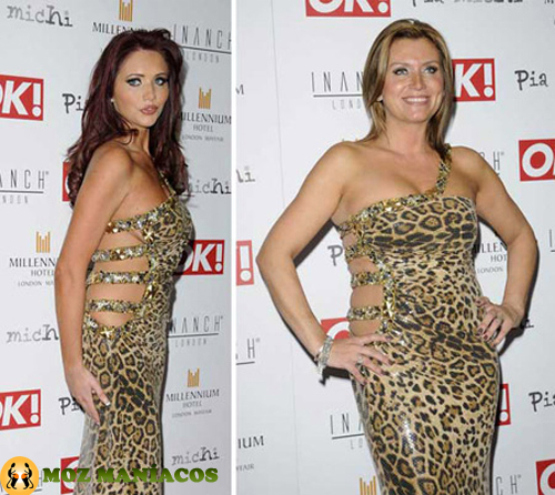 Amy Childs e Tricia Penrose