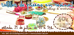 Taller de resina - 21 julio 2012