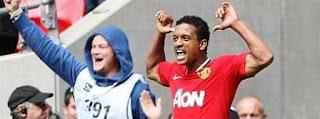 celebration MU win with Man City