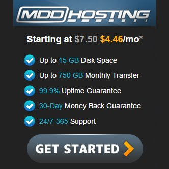 MDD Hosting Package