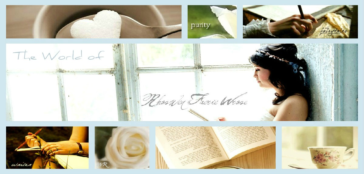 The World of a Rhoswen White Rose