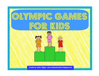 Olympic games for kids, metric me, math olympics