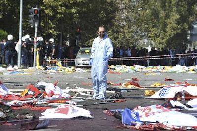 buongiornolink - Attacco kamikaze, strage ad Ankara 52 morti e 186 feriti