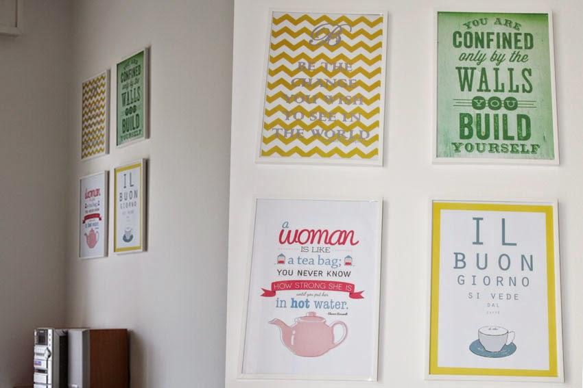 Il blog di El: Poster frasi in cucina - Decorative Quotes