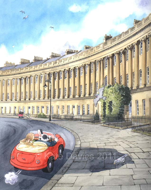 Amazing Kate Davies ~ Royal Crescent, Bath UK 636 x 800 · 84 kB · jpeg
