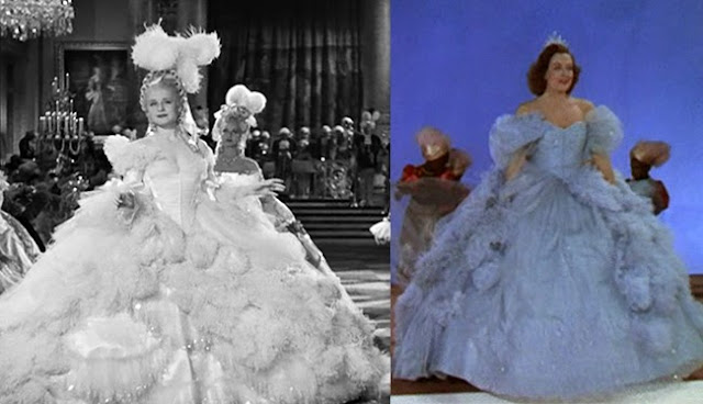 Reading treasure marie and toilette trivia about mgm 39 s for Marie antoinette wedding dress