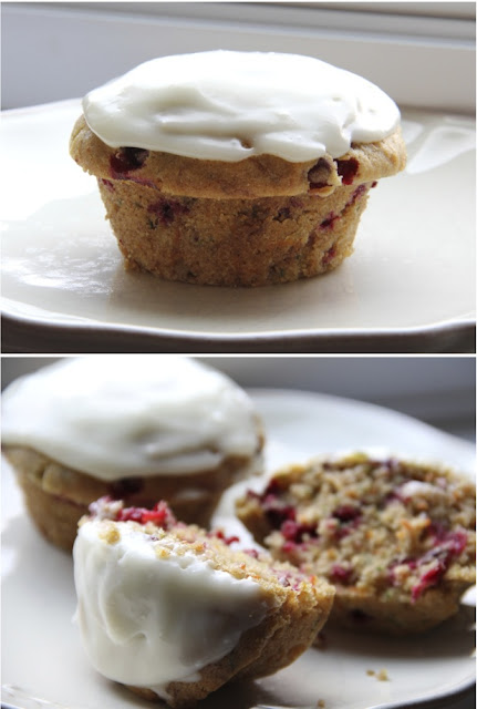 Recipe for Healthy Zucchini, Carrot & Cranberry Muffins