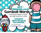 http://www.teacherspayteachers.com/Product/Gumball-Words-List-5-Turquoise-Common-Core-Sight-Word-Activities-1047378