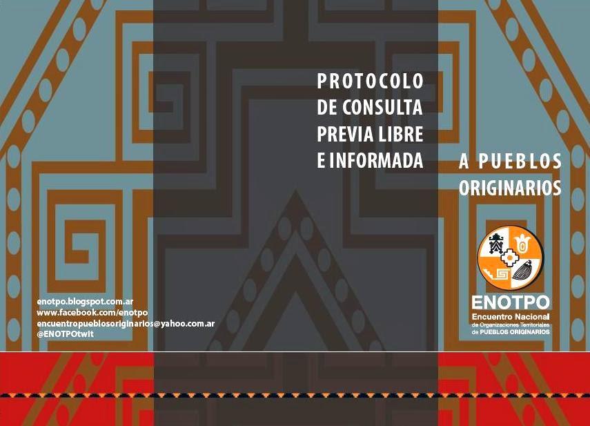 PROTOCOLO DE CONSULTA PREVIA LIBRE E INFORMADA A PUEBLOS OIGINARIOS