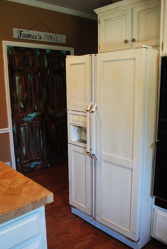 Amazing Grays  Diy Paneled Refrigerator