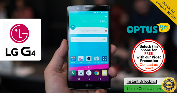 Factory Unlock Code LG G4 from Optus Yes