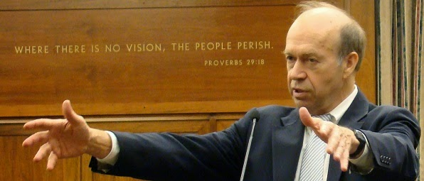 Jim Hansen: Where there is no vision, the people perish.