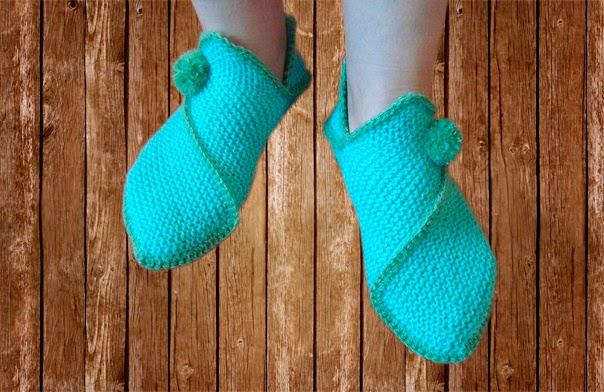 balaine laine chausson