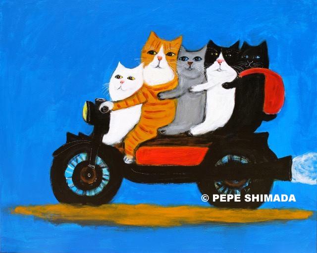 Pepe Shimada  Paitings