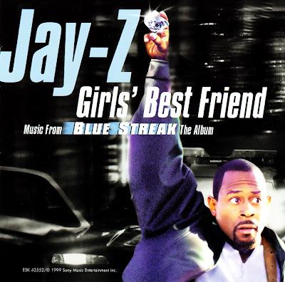Jay-Z - Girls\' Best Friend (Blue Streak)-Promo-CDS-1999
