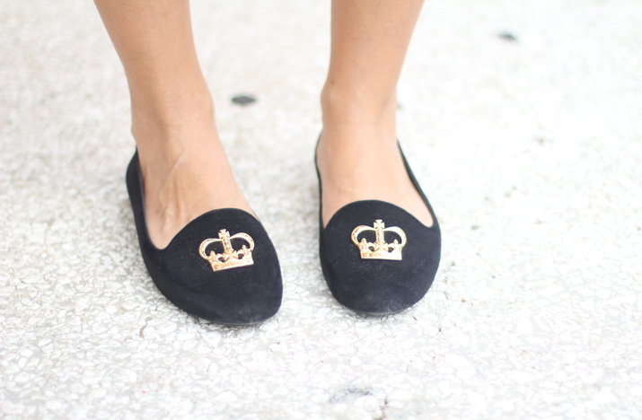 Slippers fashion blogger