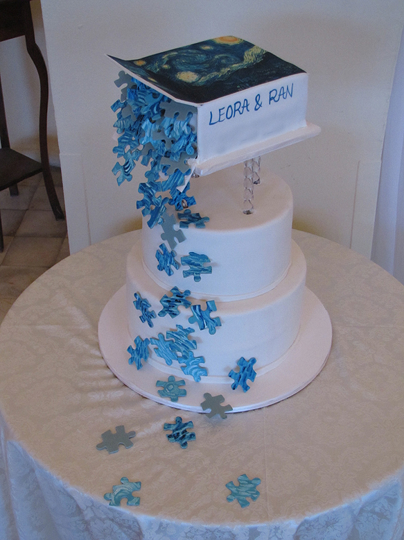 Cake Decoration Crossword Clue : Cake Decorating Blog: A puzzling cake