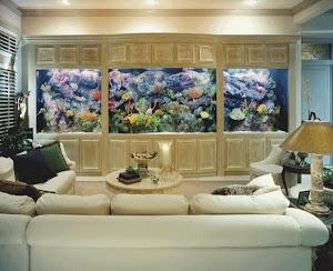 Peminat Wall Akurium Dekoration