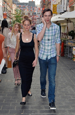 Nicholas Hoult Girlfriend Jennifer Lawrence 2012