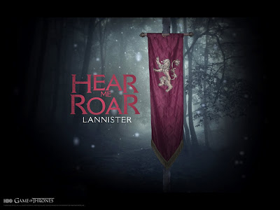 Wallpaper: Game of Thrones - Casa dos Lannister