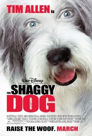 Poster Of The Shaggy Dog 2006 720p WEB-DL Dual Audio