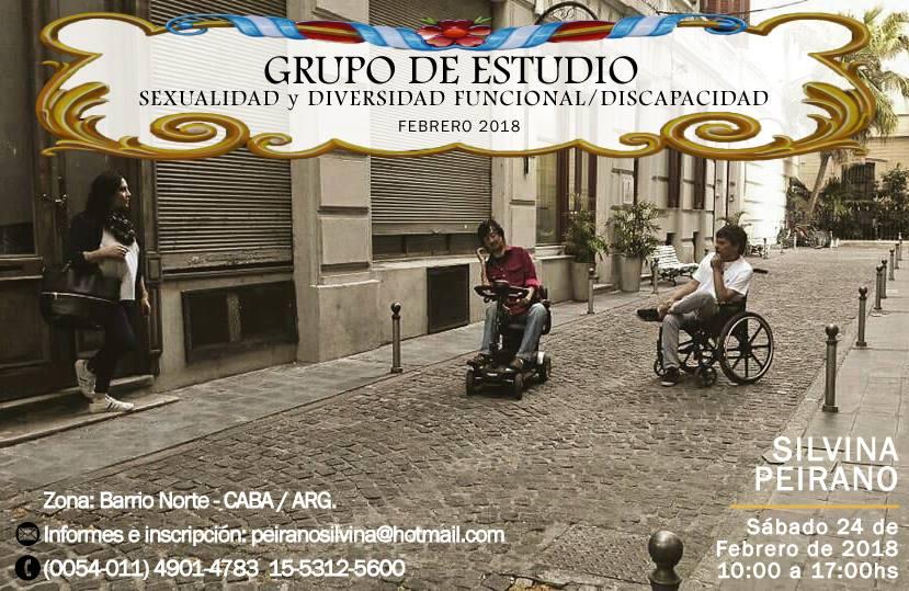 GRUPO de ESTUDIO en SEXUALIDAD y DIVERSIDAD FUNCIONAL/discapacidad.