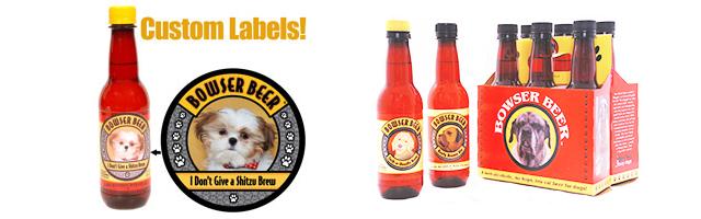 Você já viu cerveja para cachorros Bowswe Beer