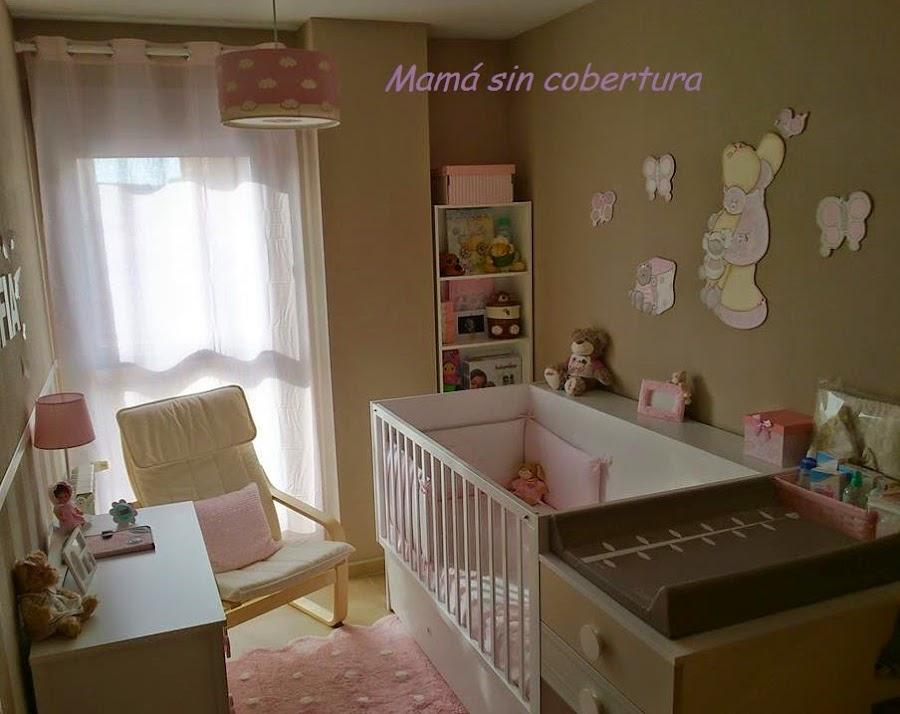 Habitacion bebe con rayas - Muebles para habitacion de bebe ...
