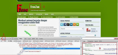 modifikasi tema template blog