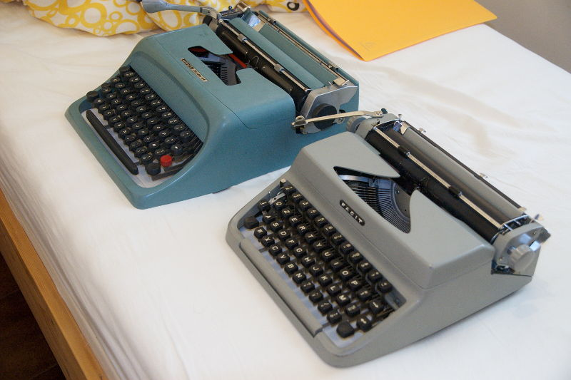 2012 05 15 - olivetti studio 44 and facit tp1