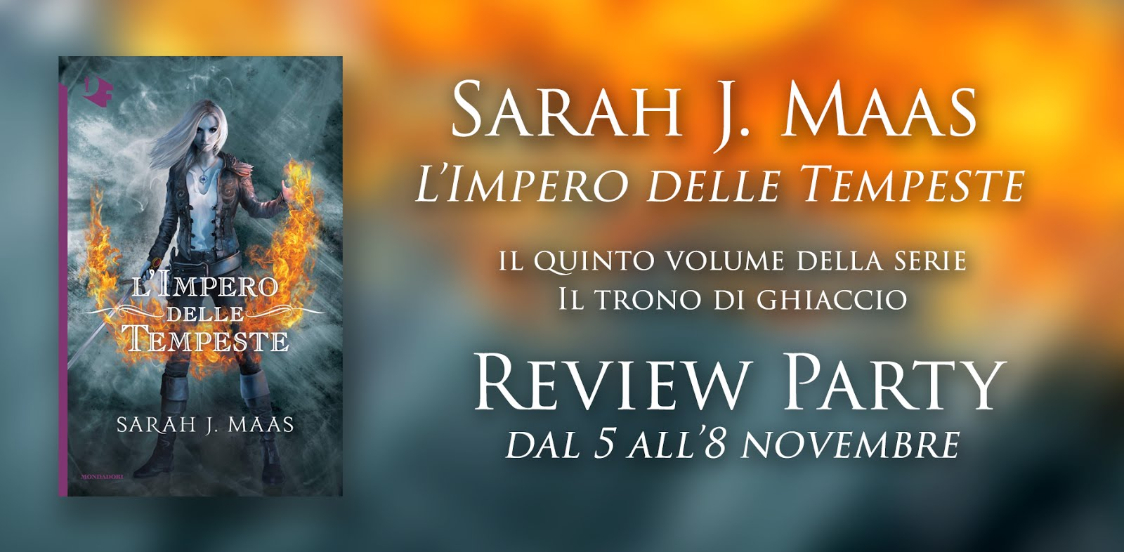 REVIEW PARTY IN ARRIVO