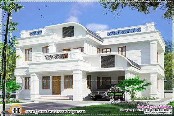 Residence At Kannur Kerala Kerala Home Design And Floor Plans