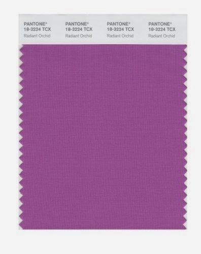 Pantone's Orchid Color of the Year