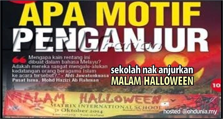 Sebuah Sekolah Di Negeri Sembilan Nak Ajurkan Malam Halloween