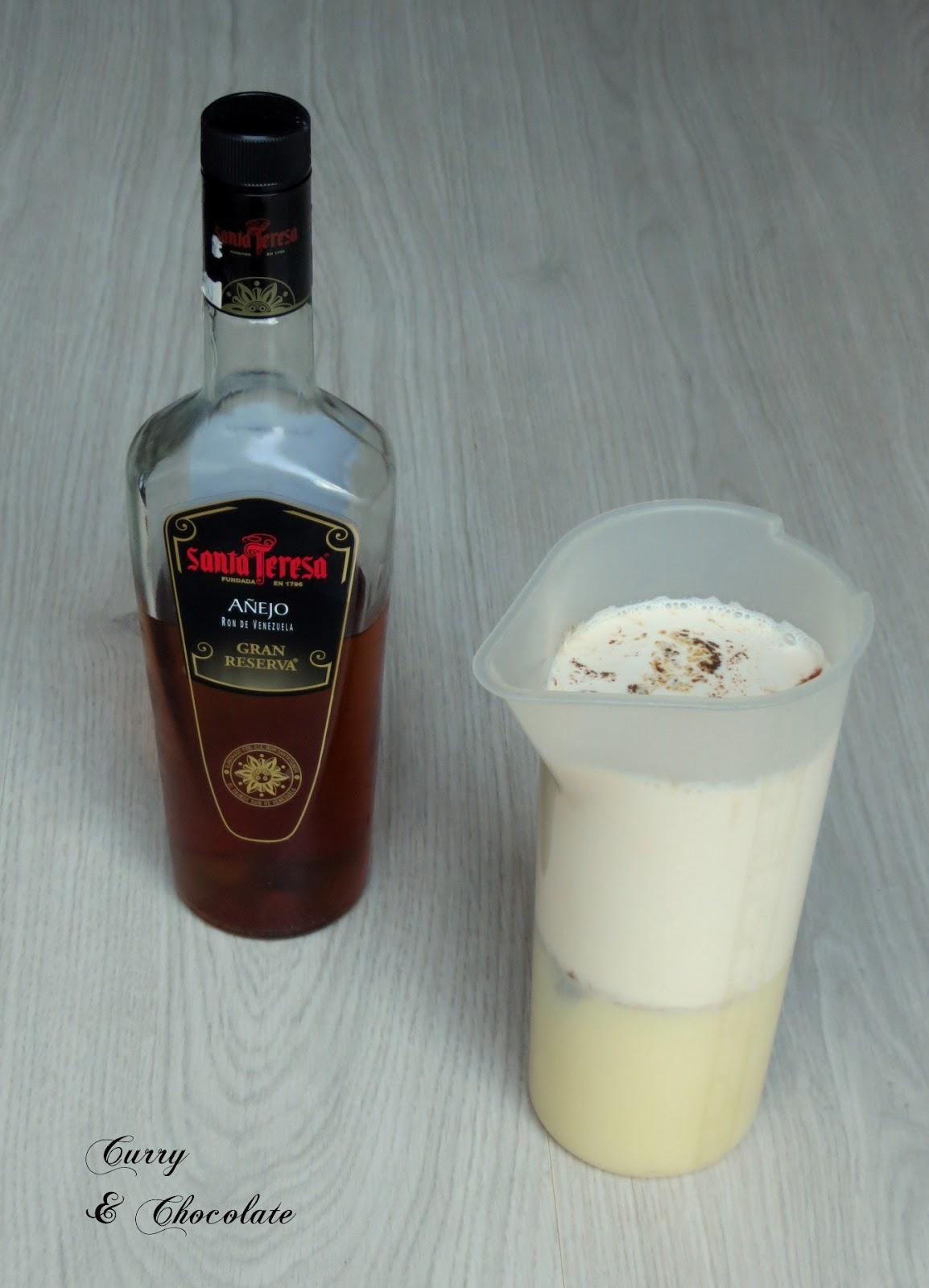 Licor de café moka con ron – Mocha rum liqueur