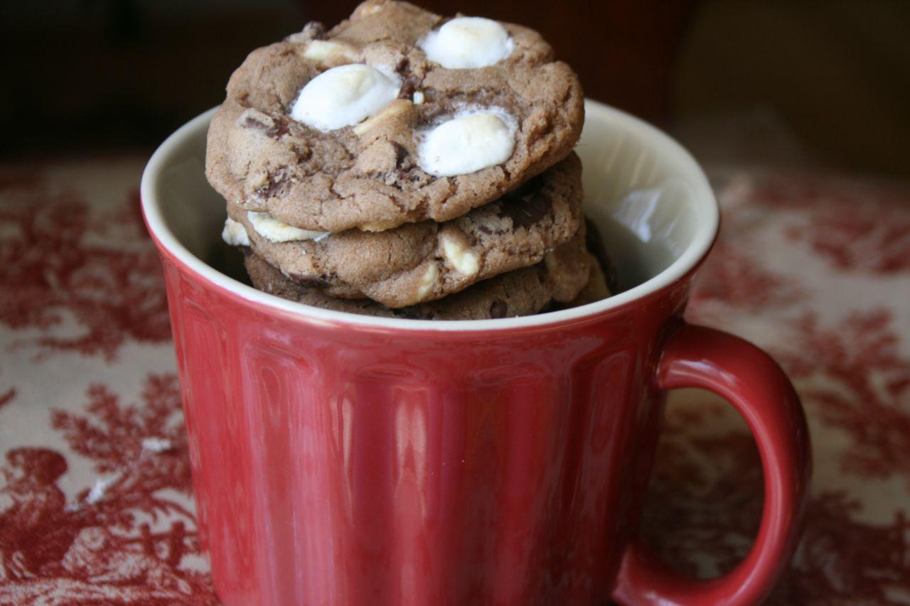 Recipe Shoebox: Hot Chocolate Cookies